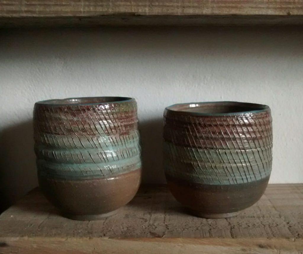Par de vasos de Rocamadre