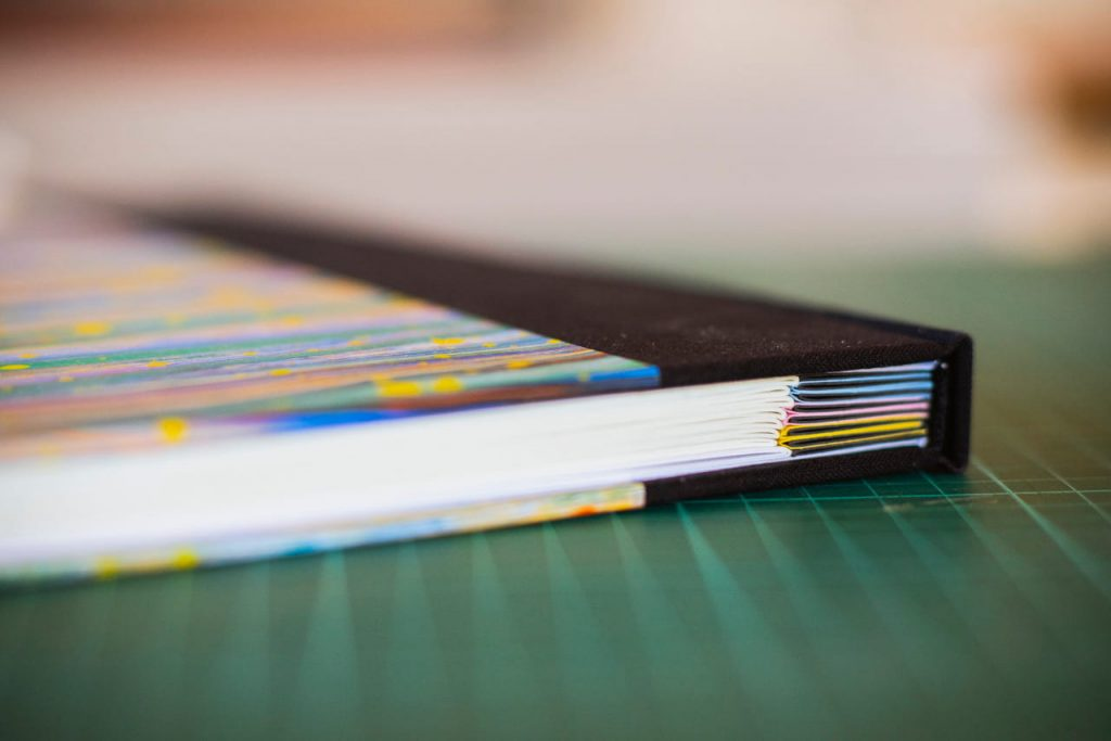 Lomo cuaderno liso de artista