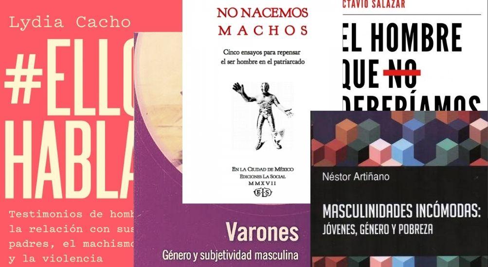 Tapas de libros masculinidades