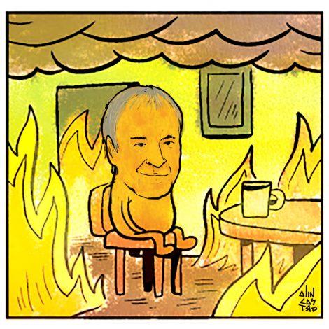 Schiaretti en llamas (1)